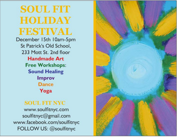 SoulFitFlyer - Front